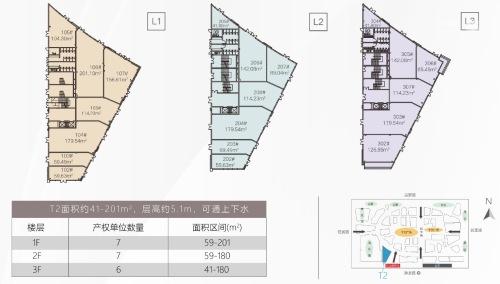 红山6979(商铺)商铺平面图