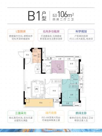 恒荣九洲悦城B1