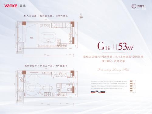 万科翡翠蓝山G1户型