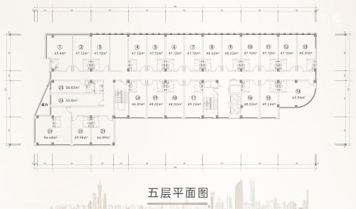 济南金领国际公寓loft