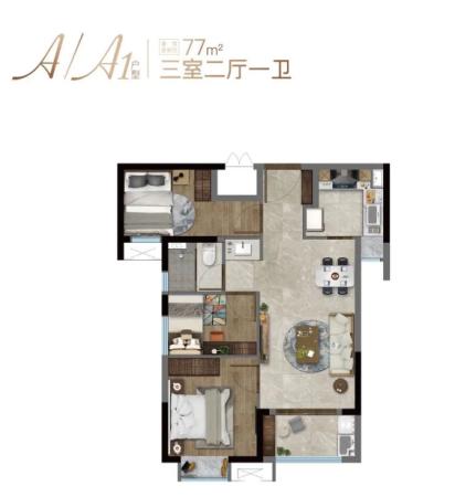 特房樾熙湾高层77