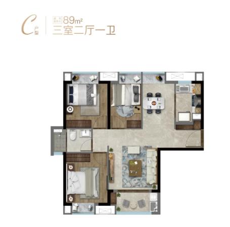 特房樾熙湾高层89