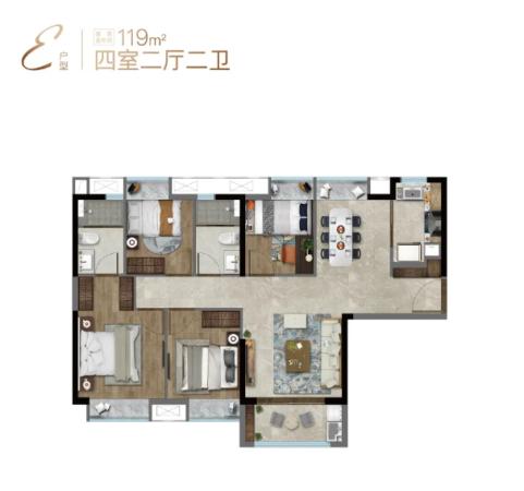 特房樾熙湾高层119